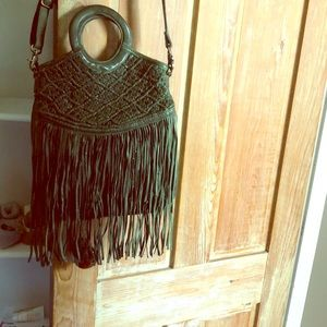 Free People Fringe Bag. Never been used.